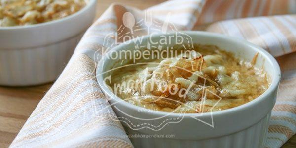 Zwiebelsuppe – Eine tolle Low-Carb Suppe für jede Gelegenheit