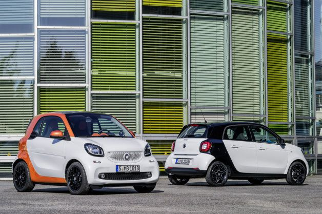 Smart Fortwo, Forfour reborn with fresh styling on new platform [w/video] - Autoblog