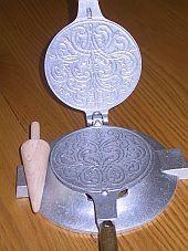 Specialty Scandinavian Baking Tools: Krumkake Baker