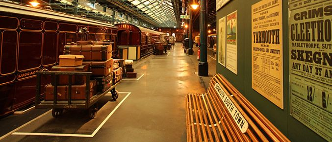 Station Hall - Plan a visit - National Railway Museum