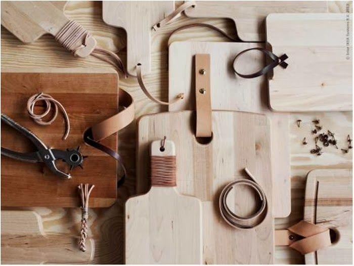 DIY | Cutting Board Hacks (via Livet Hemma)