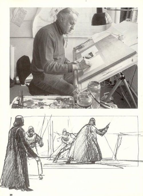 'Star Wars' Concept Artist Ralph McQuarrie Dies.  Via TAXI