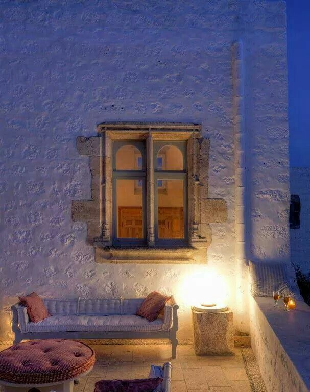 """Relaxing outdoor in Patmos Island, Greek style!!! """" Amazing Greece """""""