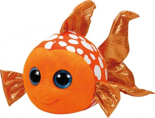 Ty - Beanie Boos Sami le poisson orange géant 42 cm - Castello | Jeux et Jouets