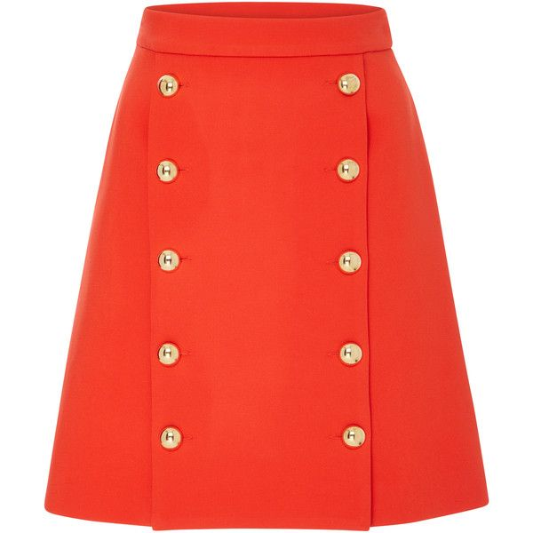 Portobello Mini Skirt   Moda Operandi ($495) ❤ liked on Polyvore featuring skirts and mini skirts