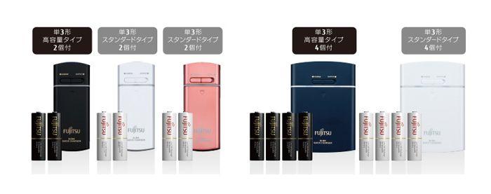 富士通USBモバイル急速充電器セット