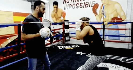 Ronday Rousey Former UFC bantamweight champion back on training. Former Ultimate Fighting Championship (UFC) women's bantamweight champion Ronda Rousey is