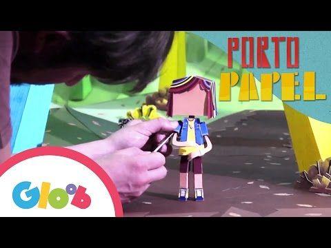 O Mundo de Papel | Making Of | Porto Papel | Gloob - YouTube