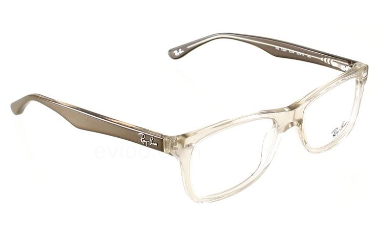 clear ray ban eyeglass frames  new ray ban plastic clear/brown men women rx eyeglasses rb 5228 5234 50 17 140 #rayban