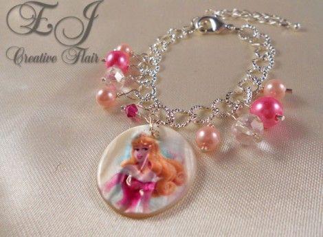 Child's Princess Aurora Bracelet | EJ Creative Flair $15.00