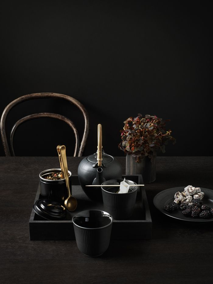 Royal Copenhagen Black Fluted