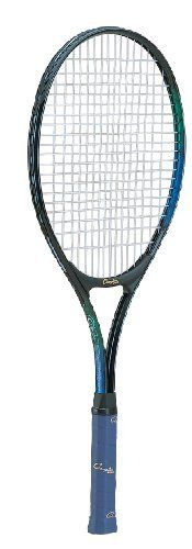 Champion Sports 27-Inch Oversize Head Tennis Racquet by Champion Sports. $39.94. Oversize head tennis rackets are perfect for players who are seeking more power in their swing. The Champion Sports Oversize Head Tennis Racket is 27in and features a durable aluminum frame, wide body construction, nylon strings, and a comfortable leather grip.