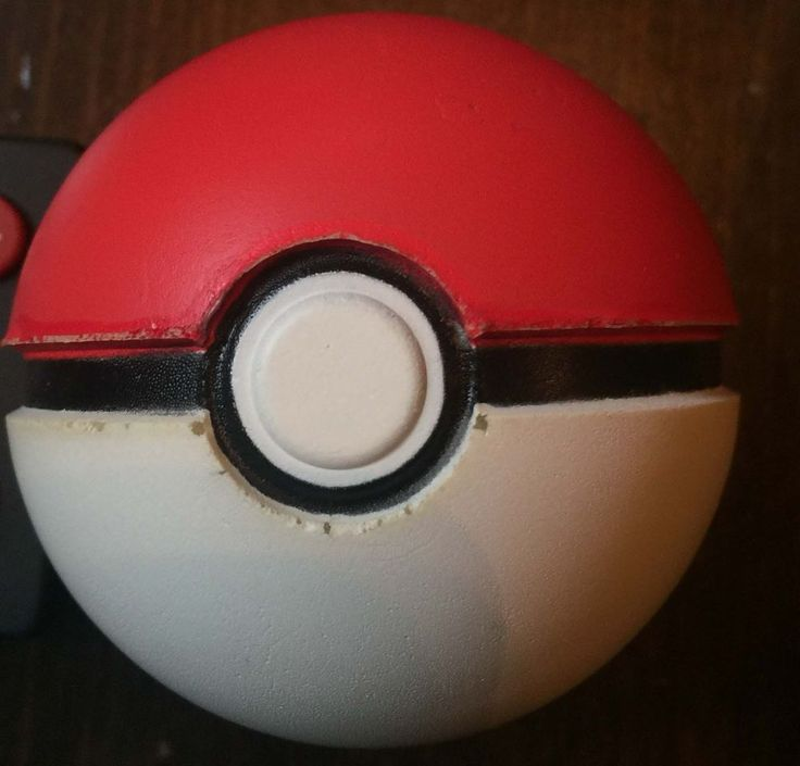 Pokemon OFFICIAL POKEBALL Squeeze Foam Poke Ball Toy Squishy Cosplay JAKKS 2011 #POKEMON