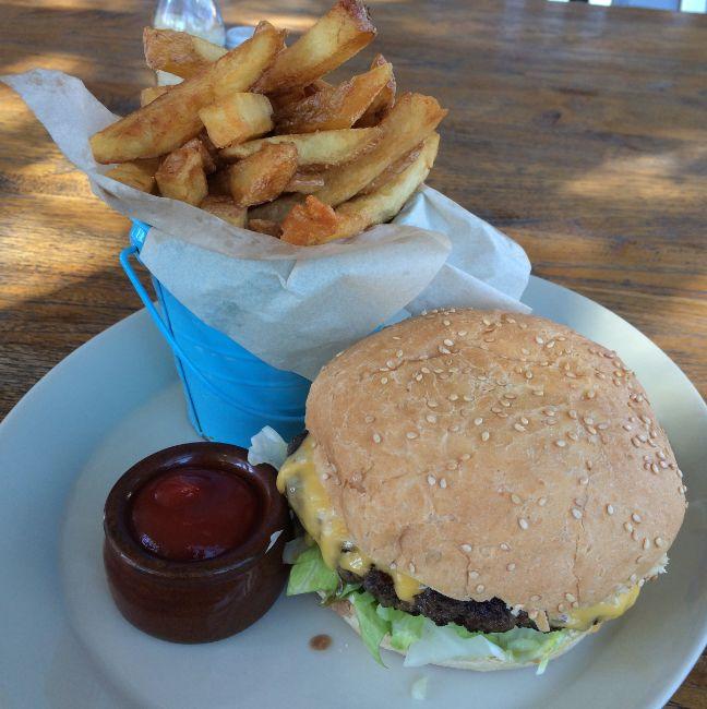 Classic Cheeseburger Jimmy the Saint Port Melbourne