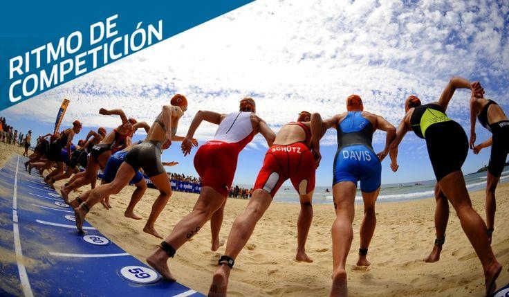 Cómo trabajar el ritmo de natación en competición