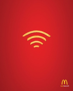 Great Mc Donalds ad for WIFI