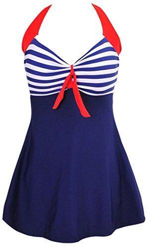 MiYang Vintage Sailor Pin Up Swimsuit One Piece Skirtini ... https://www.amazon.com/dp/B01F78AU72/ref=cm_sw_r_pi_dp_x_pOQ2ybFVCK0VH