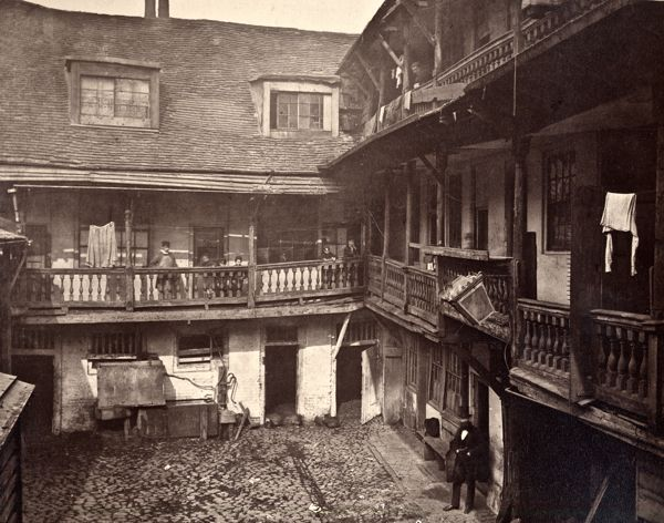 The Oxford Arms - a series of photographs by the Society trying to save this building - it failed. The George is the only galleried inn left in London.