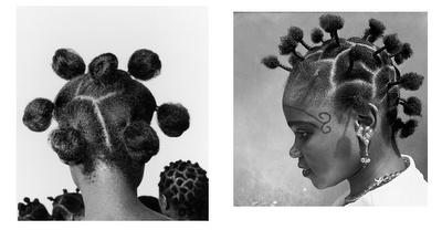 Nigerian hairstyles by Ojeikere