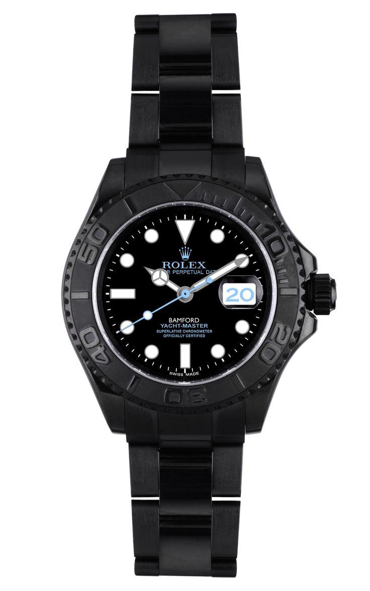 Nina Garcia's Customized Yachtmaster Watch from Bamford.