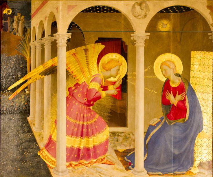 archanděl gabriel fra angelico - Hledat Googlem