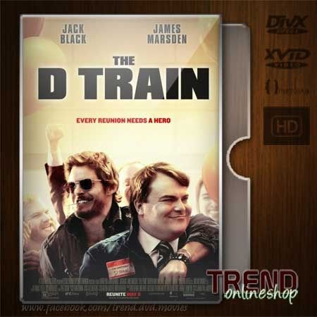 The D Train (2015) / Jack Black, James Marsden / Comedy / Ind + Eng / 1080p | #trendonlineshop #trenddvd #jualdvd #jualdivx