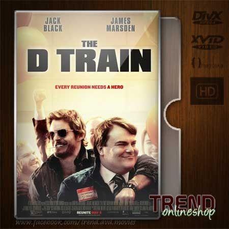 The D Train (2015) / Jack Black, James Marsden / Comedy / Ind + Eng / 1080p   #trendonlineshop #trenddvd #jualdvd #jualdivx