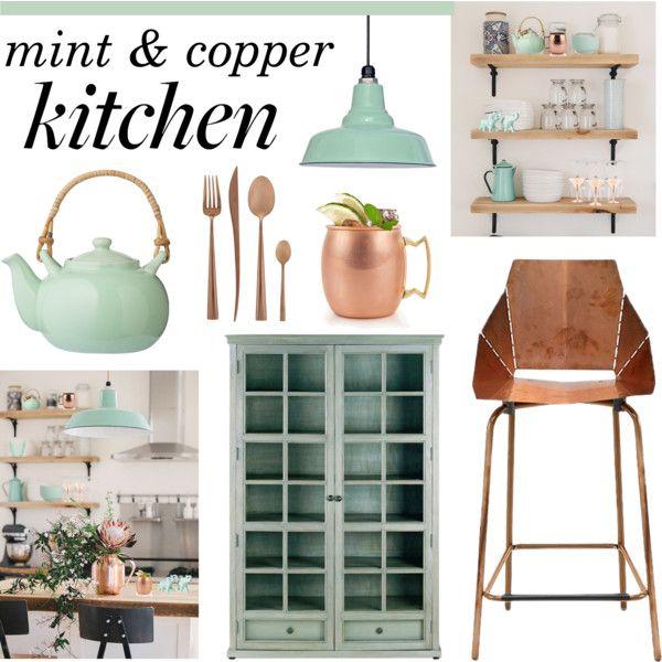 Mint Green Kitchen Decor: 1000+ Ideas About Mint Kitchen On Pinterest