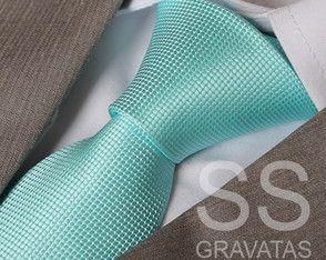 Gravata Verde Tiffany - C119