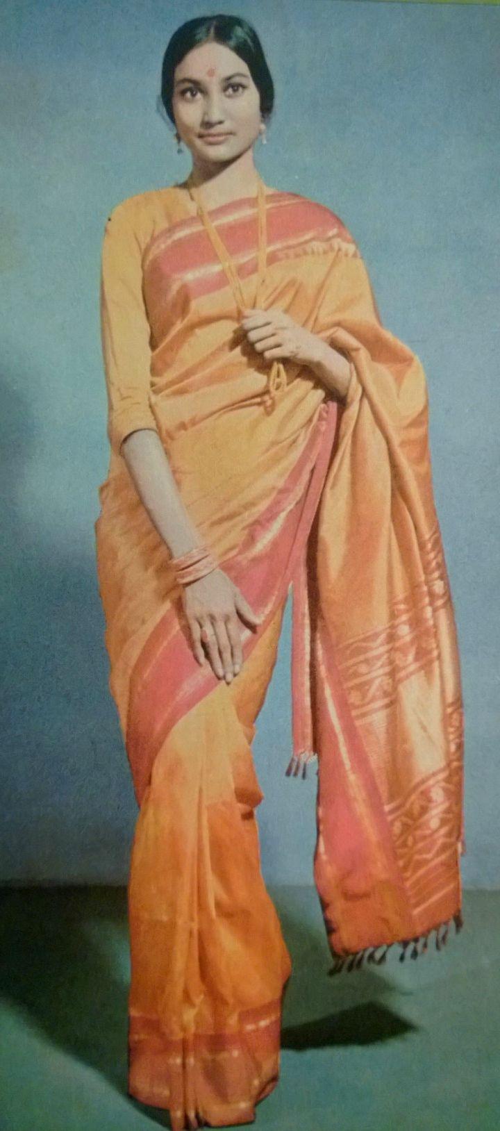 Demure Brochure Model this Sunday   saree image