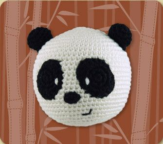 Dandelion - Organic Handcrafted Roly Poly - Panda - Hugs For Kids