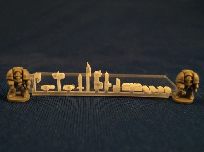 6mm Gothic Assault Weapons 3d printed