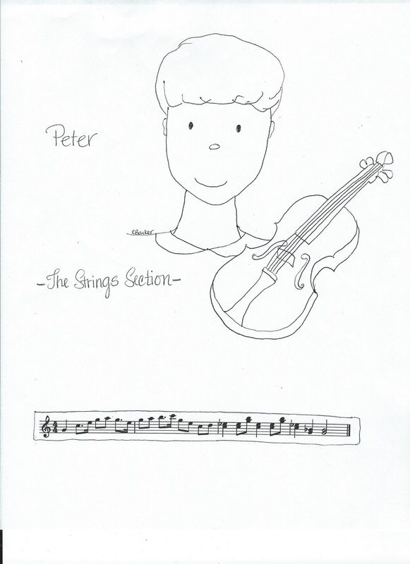 the crafty music teacher blog peter the wolf coloring sheets with notated themes free