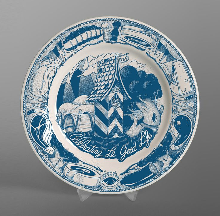08.2014   Now available online - The goodlife plate Putting the rock in crockery, here's some fine Mcbess tableware! This ceramic plate can accomodate steaks as wide as 26.5cm. Get it here.