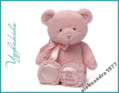 My First Teddy różowy, Gund