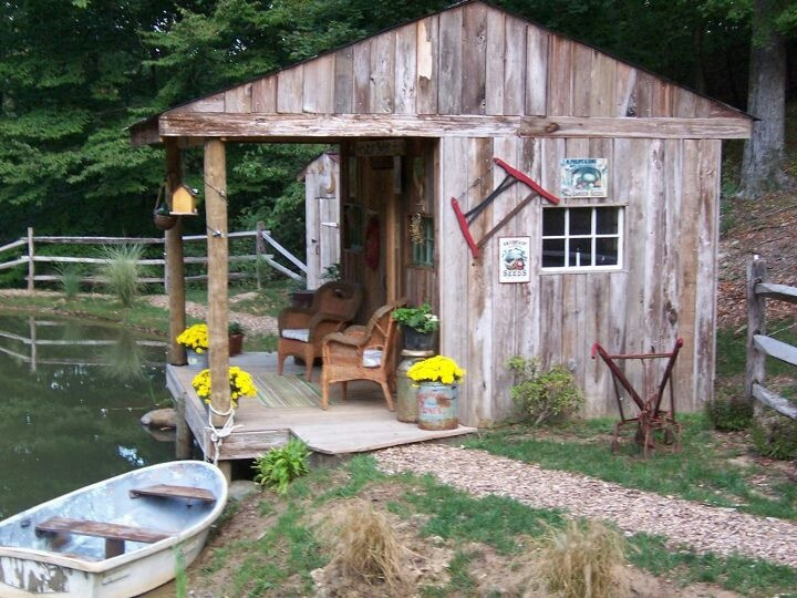 933 best images about small houses sheds greenhouse etc on for Cheap hunting cabin ideas