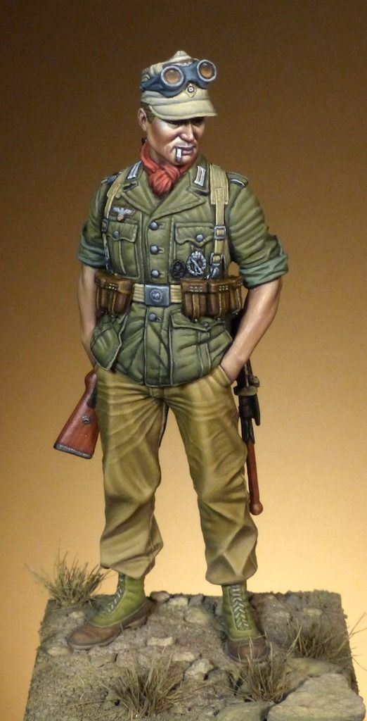 Afrika Korps Soldier - Jaume Ortiz