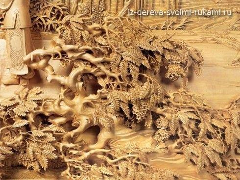 Китайская художественная резьба по дереву. Фото | Из дерева своими руками:поделки, мебель, мастер-классы: