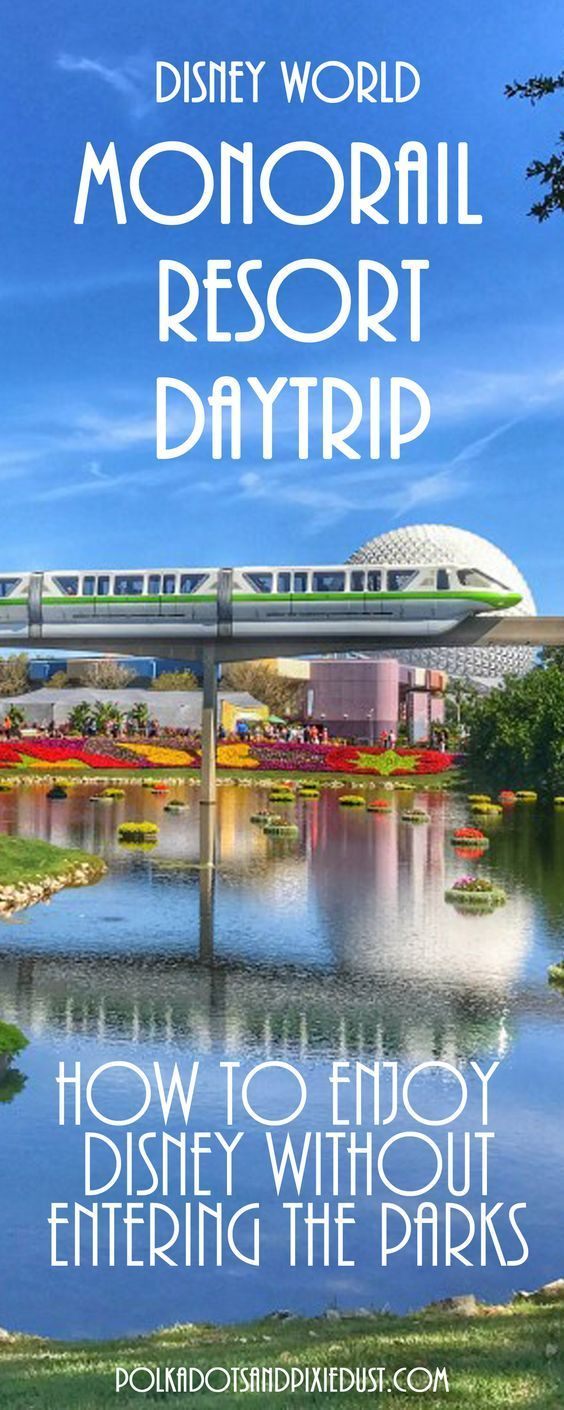 Monorail Resorts Day Trip: A Free Disney Day Without Park Tickets ...