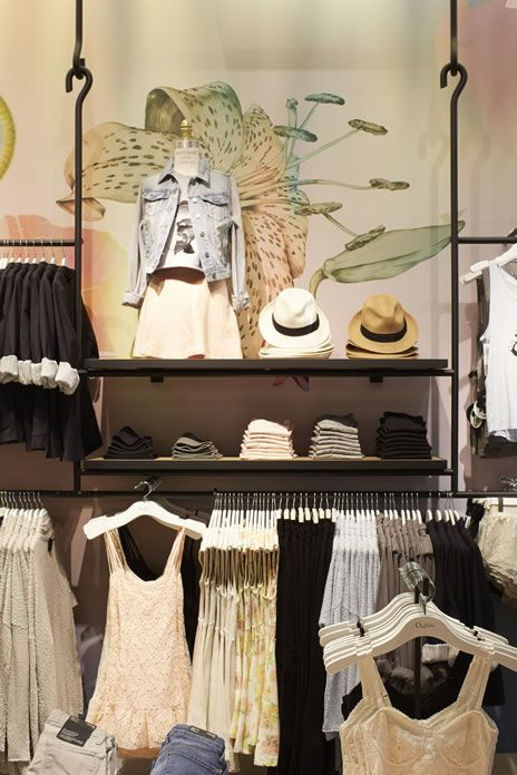 Inside Aritzia's New Park Royal Store & Their Spring Collection '14 Clean Slate