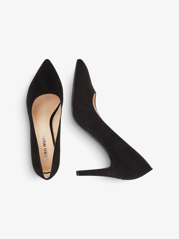4fc20b9a74edd VEROMODA CLASSIC HIGH HEELED PUMPS, Black | Shoes and bags | Shoes ...