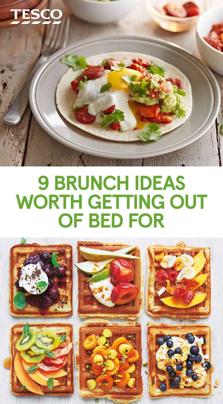 110 best easter tesco images on pinterest nine brunch ideas worth getting out of bed for negle Gallery