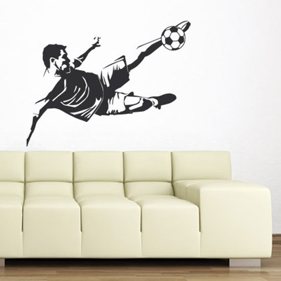 Wall #sticker For The #soccer Fans, I Will Reveal You More Sport Models