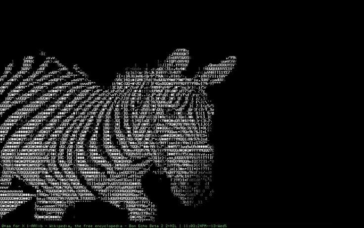 One Line Ascii Art Dog : Best ascii art ideas on pinterest line
