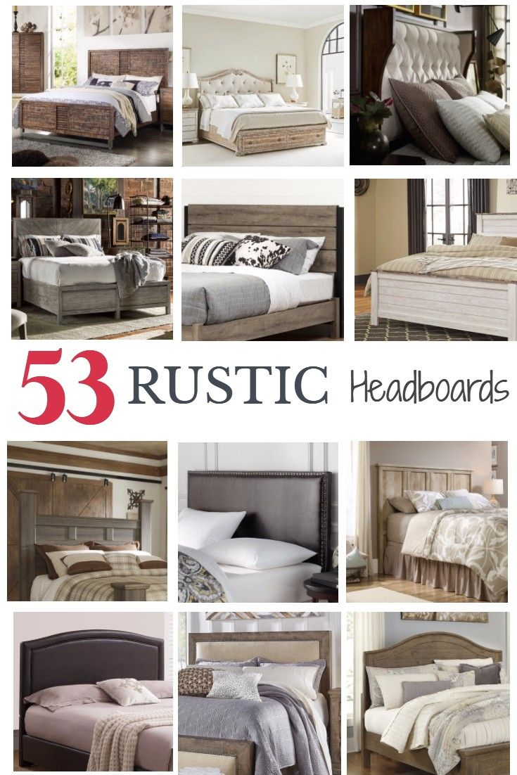 Rustic Bed Headboard - A rustic headboard is one of the most important pieces of rustic bedroom furniture browse