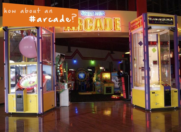 If it isn't quite beach weather, keep the kids occupied with a trip to an #arcade! #family