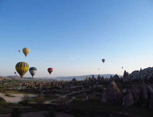 Balloon flight Cappadocia, Turkey