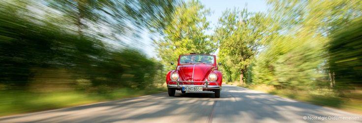 Berchtesgaden Volkswagen VW Käfer Cabrio 1200 | Nostalgic Oldtimerreisen