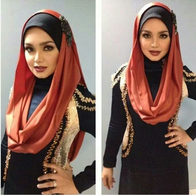 Hijab With Infinity Scarf - Simple Ways to Wrap and Wear it