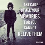 """Take care of all your memories. For you cannot relive them"" ~ Bob Dylan #pastbook #quotes #inspirational #memories"